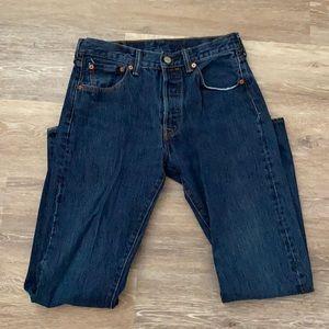 Levi's 501 men's jeans 30 x 32 fly button
